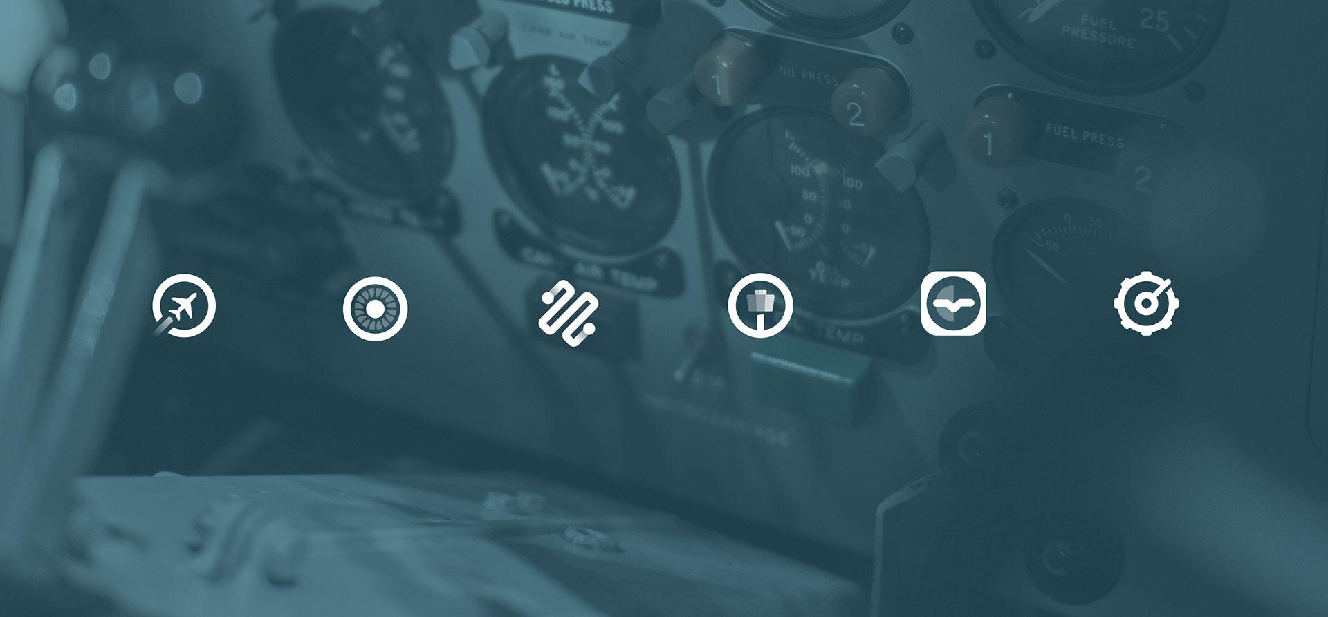Custom icon designs for EveryMundo